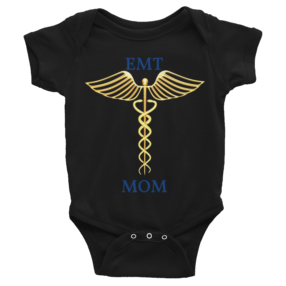 EMT MOM Infant Bodysuit ByJackson. - ByJackson