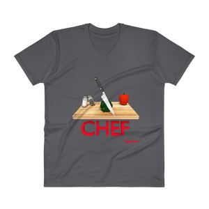 Chef V-Neck T-Shirt ByJackson