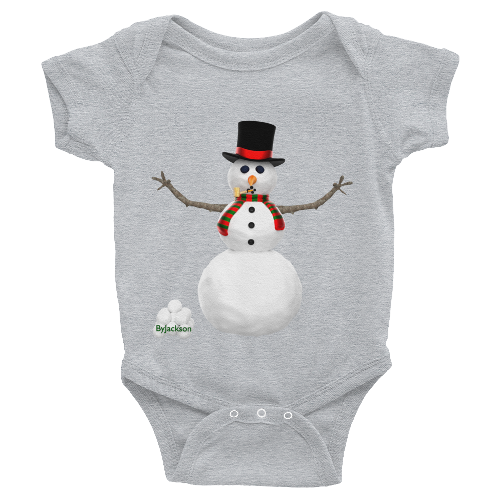 Snowman Infant Bodysuit ByJackson