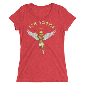 1 Love Yourself Ladies' short sleeve t-shirt ByJackson - ByJackson