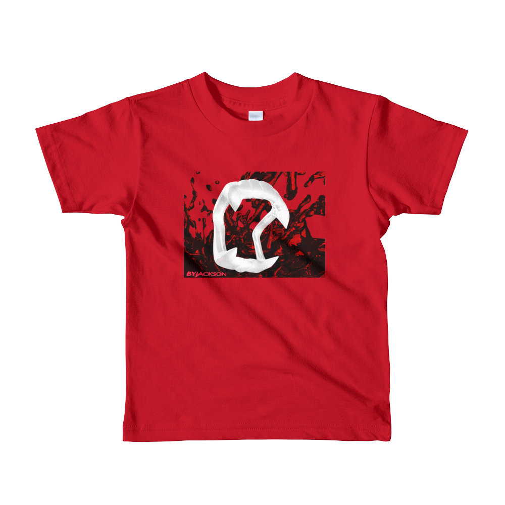 Fangs Short sleeve kids t-shirt ByJackson
