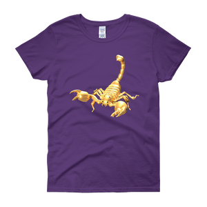 Scorpio Women's short sleeve Tee Shirt ByJackson