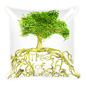 Tree of Life Square Pillow ByJackson - ByJackson