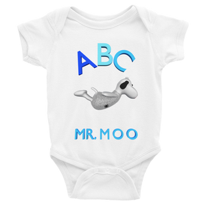 Mr.Moo Swan Infant Bodysuit ByJackson. - ByJackson