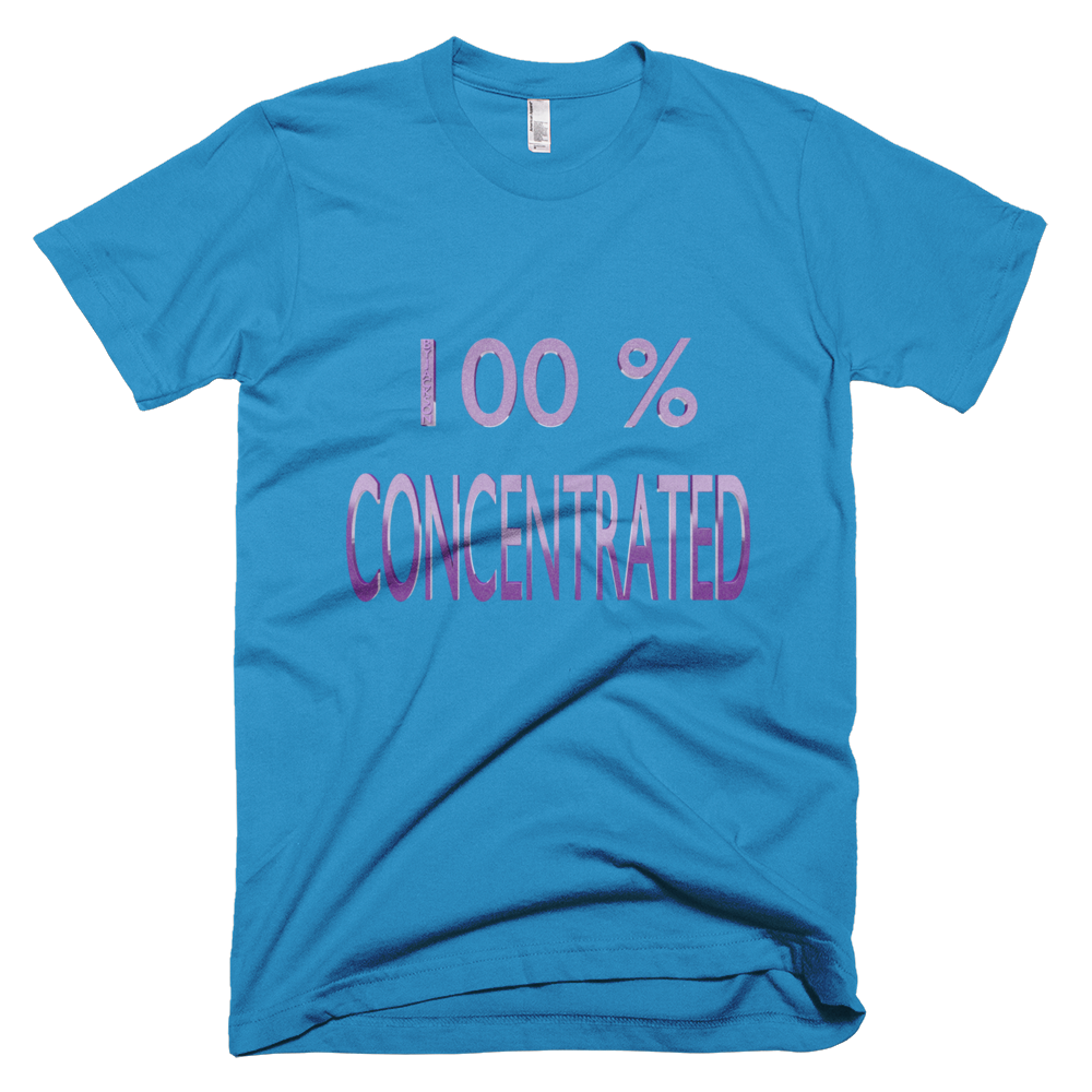100% Concentrated Short-Sleeve T-Shirt ByJackson