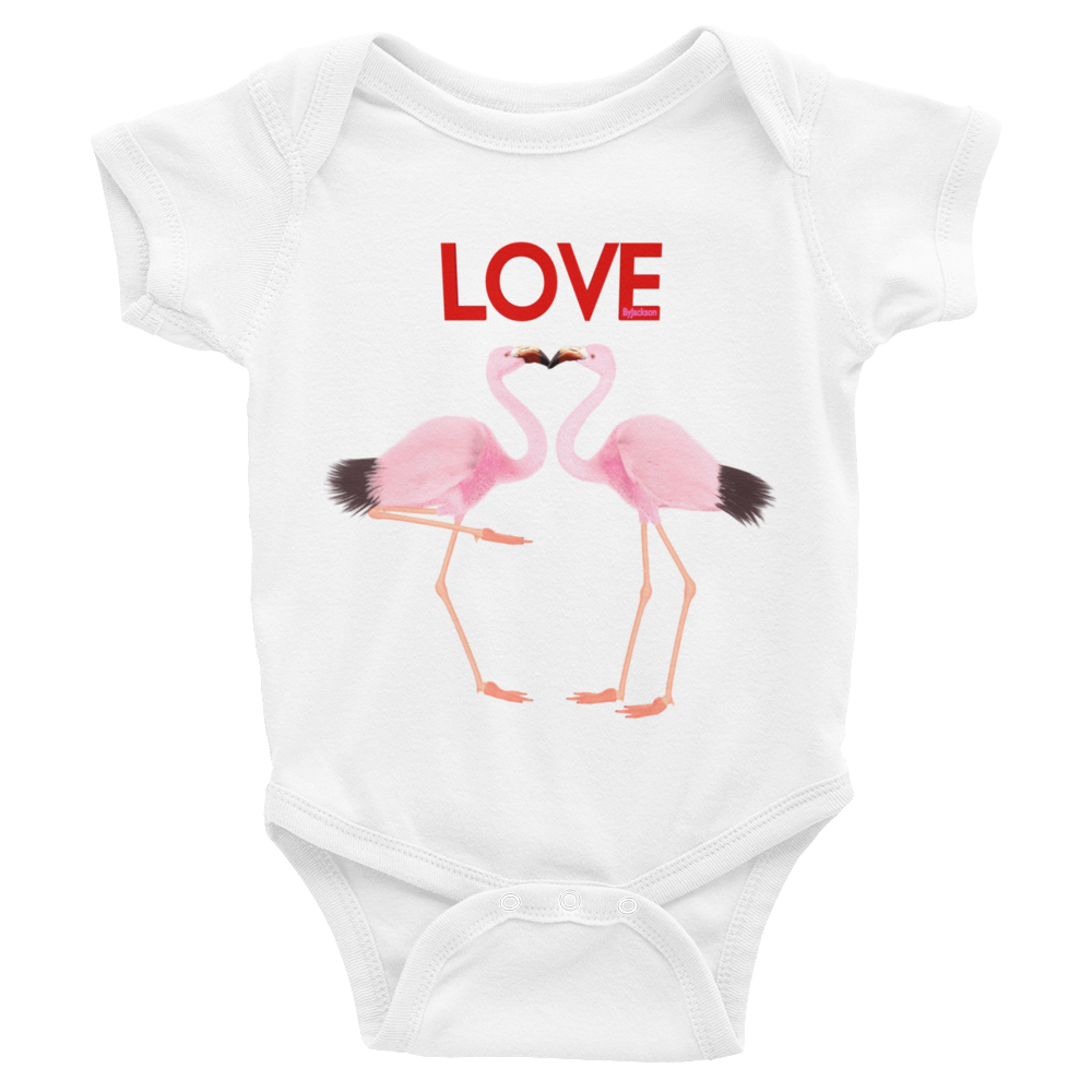 2Flamingo Infant Bodysuit ByJackson