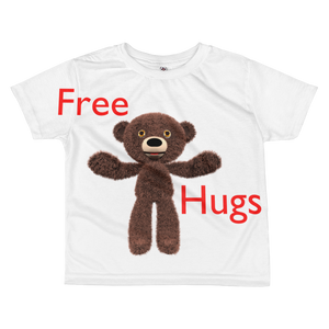 Free Hugs All-over kids T-shirt ByJackson