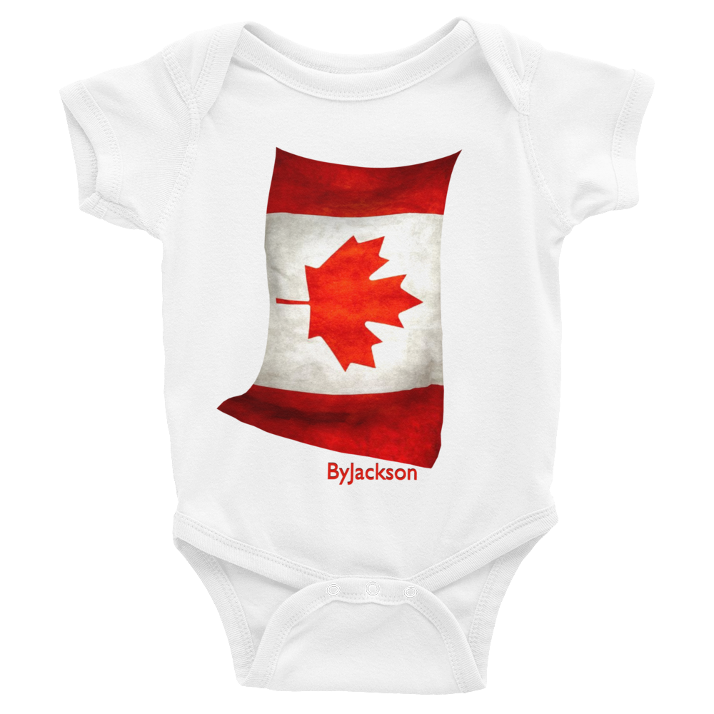 Canadian Flag Infant Bodysuit ByJackson