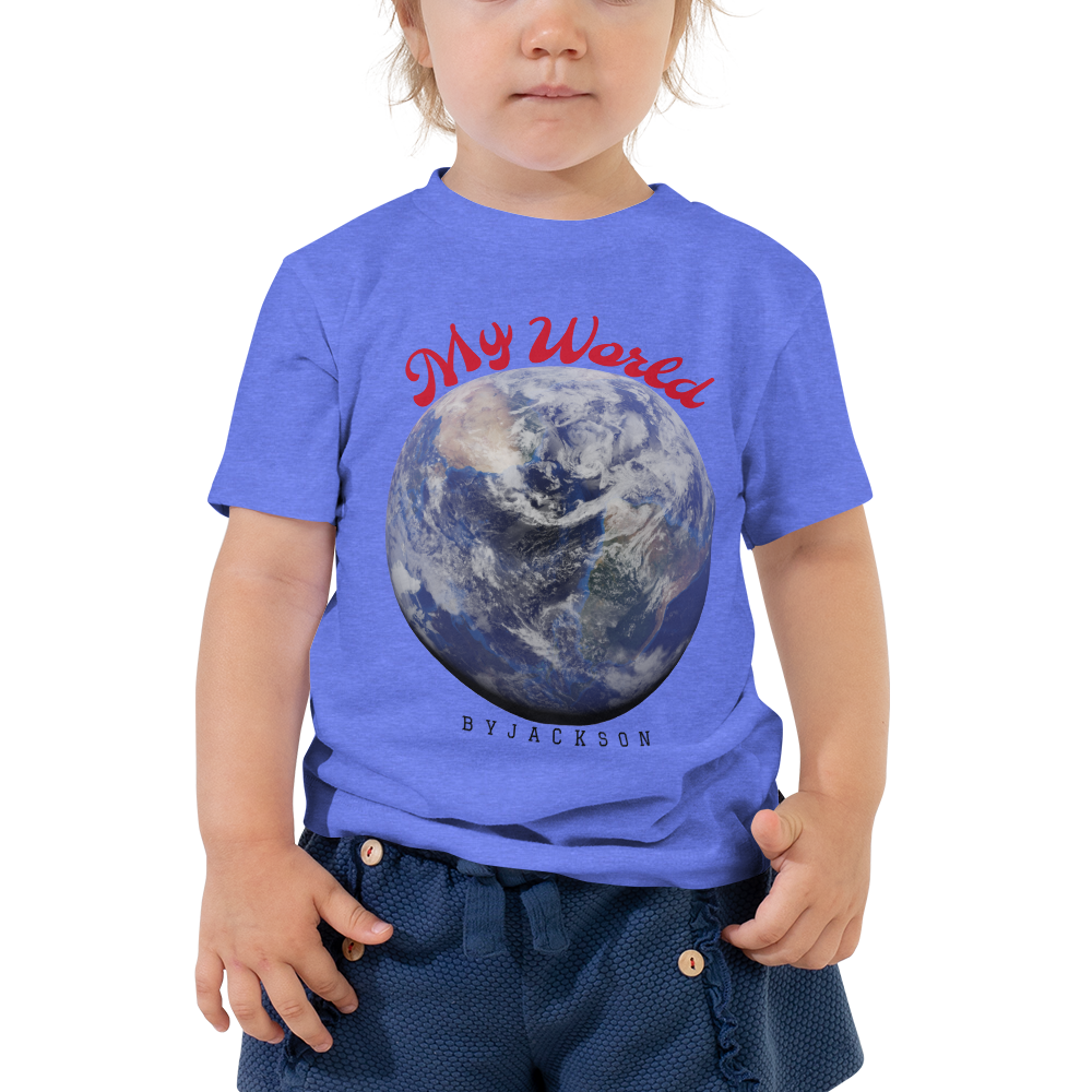 My World Toddler Short Sleeve Tee ByJackson