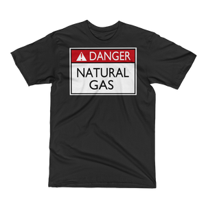 Danger Natural Gas Men's Short Sleeve Tee Shirt ByJackson - ByJackson