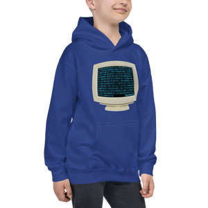 Binary Code Kids Hoodie ByJackson.org. This Hood is coded to reveal a TOP SECRET Message.
