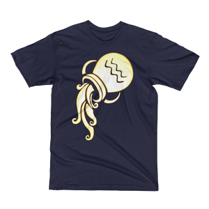 Aquarius Men's Short Sleeve Tee Shirt ByJackson - ByJackson