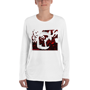 Fangs Ladies' Long Sleeve T-Shirt ByJackson