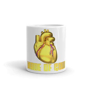 HEART MADE OF GOLD Mug made in the USA  ByJackson - ByJackson