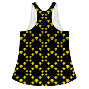 Canary Diamond Girl Edition Racerback Tank ByJackson
