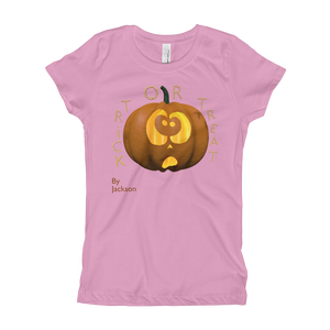 Trick or Treat Woman's Tee Shirt ByJackson - ByJackson