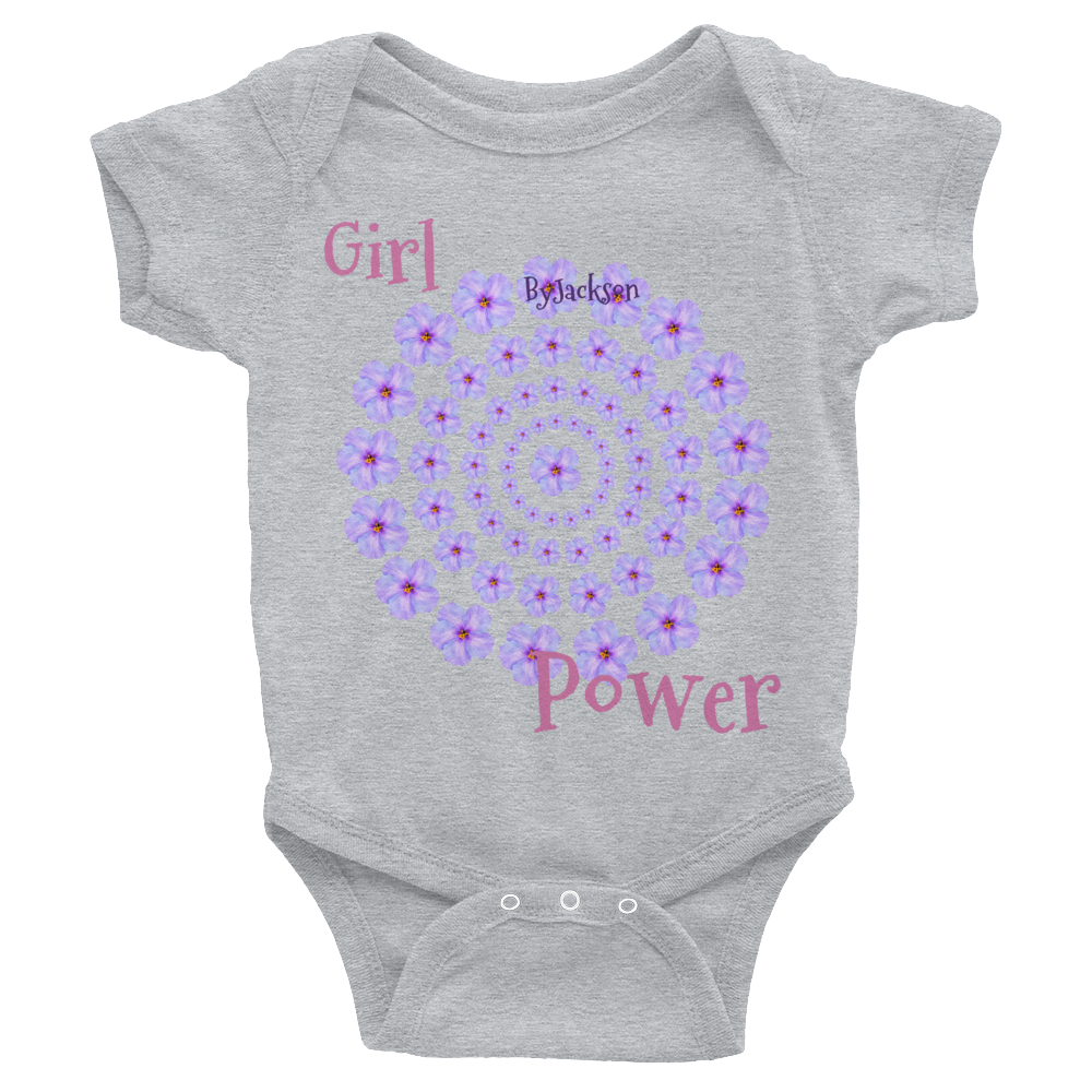 Girl Power Infant Bodysuit ByJackson