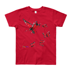 Butterfly Youth Short Sleeve Tee Shirt ByJackson - ByJackson