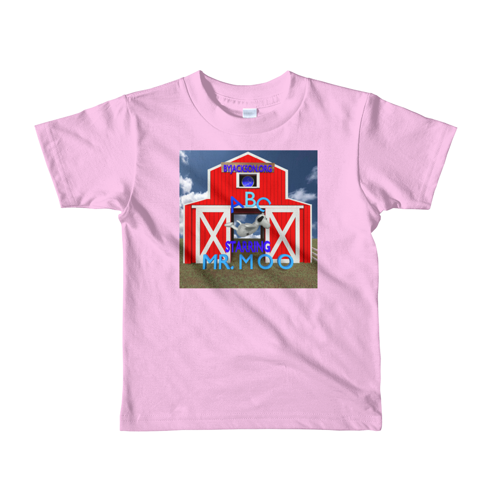 ABC Mr.Moo Short sleeve kids t-shirt. ByJackson - ByJackson