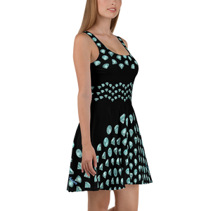 Blue Diamond Skater Dress ByJackson