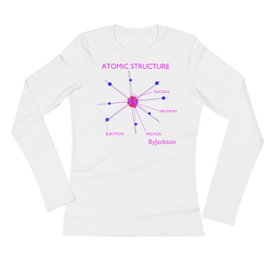 Atomic Womans Long Sleeve Tee Shirt ByJackson