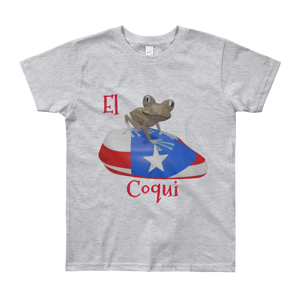 El Coqui Youth Short Sleeve T-Shirt ByJackson.
