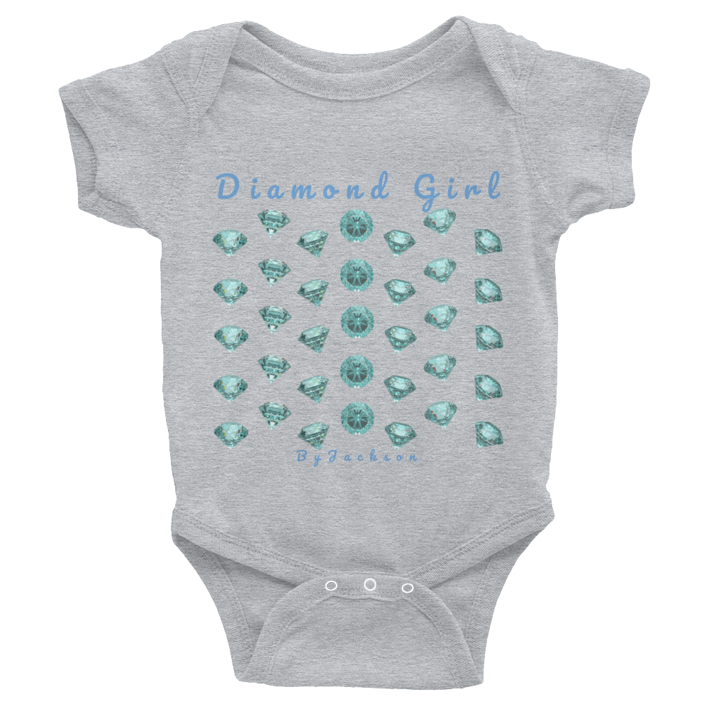 Blue Diamond Girl Infant Bodysuit ByJackson