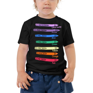 Colors Kid Toddler Short Sleeve Tee ByJackson