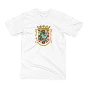 PR COAT of Arms Men's Short Sleeve Tee Shirt ByJackson - ByJackson