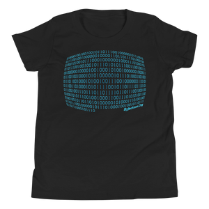 Binary Code Youth Short Sleeve T-Shirt ByJackson.