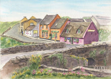 Load image into Gallery viewer, Doolin Ireland (Watercolour Painting)
