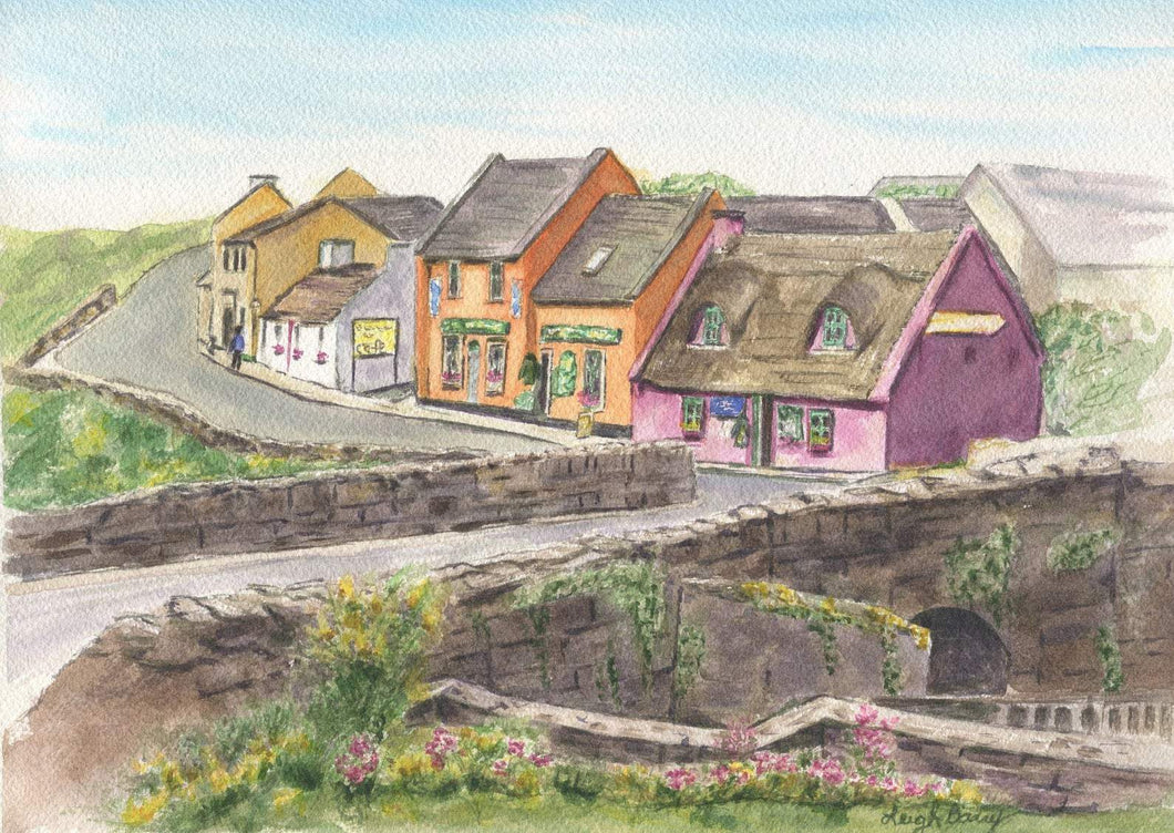 Doolin Ireland (Watercolour Painting)