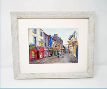 Load image into Gallery viewer, Claddagh Quay, Galway Ireland (Watercolour Painting) TEST