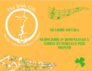 Subscribe and Download 5 Video Tutorials Per Month (Searbh Siúcra)