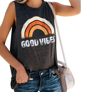 "eprolo Orange / S ""GOOD VIBES"" Linne"