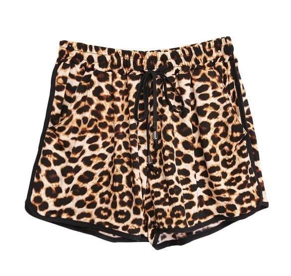 eprolo Shorts I Leopardmönster