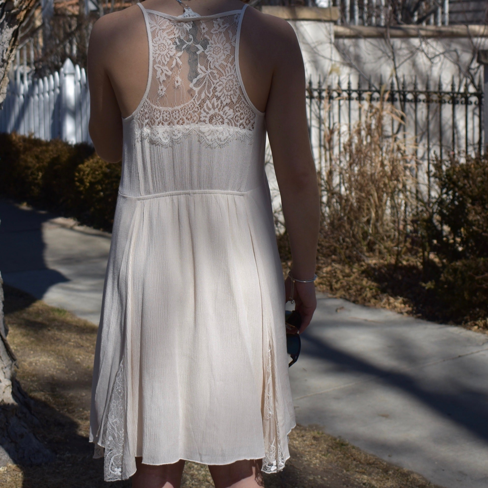 Lace Strappy Dress