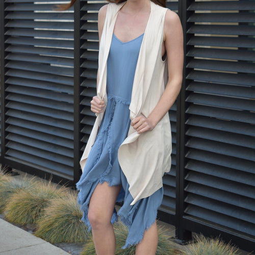 Flyaway Sleeveless Dress