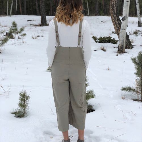 Button Back Jumpsuit