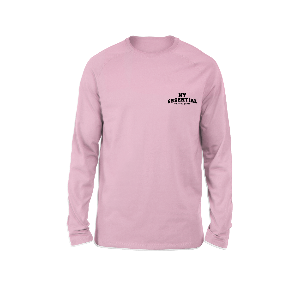 EJ College Long Sleeve T-Shirt - Pink