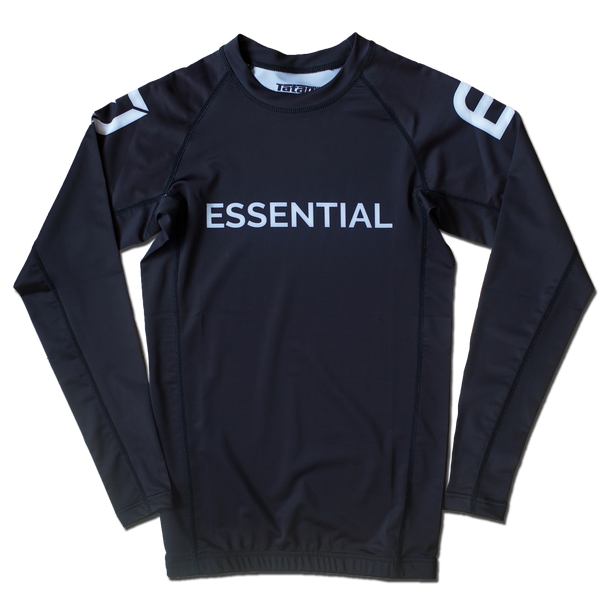 EJ Kids Long Sleeve Rashguard - Black