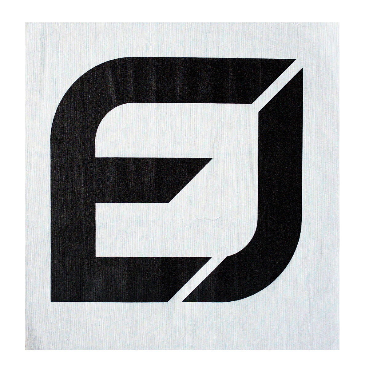 EJ Logo Patch - Black or White - Large