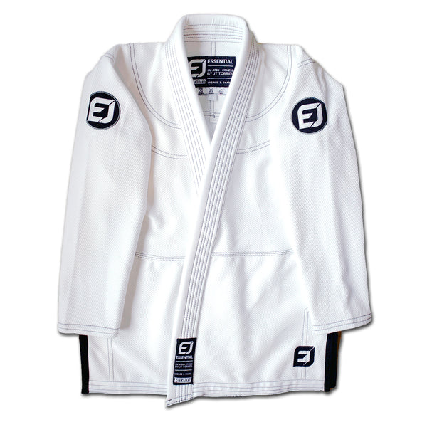 EJ Basic Kids Academy Gi - White