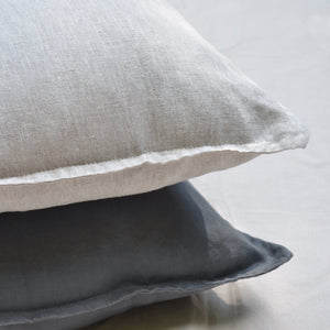 Linen Pillow Covers - Natural