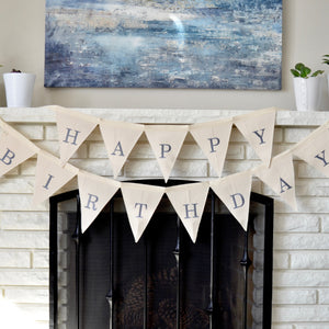 Canvas Happy Birthday sign