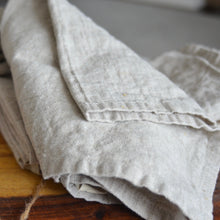 Linen Dinner Napkin in Natural - Set of 4