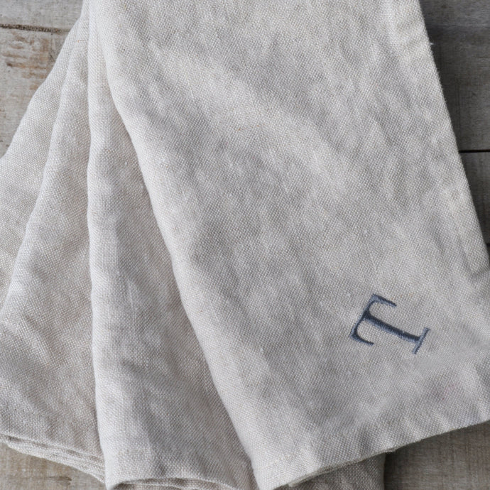 Linen Dinner Napkin in Natural - Set of 4 (LDNN4)