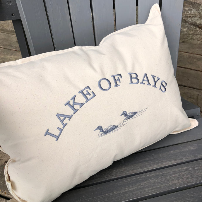 Personalized Canvas Pillow