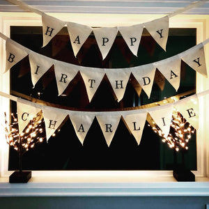 Reusable Happy Birthday sign