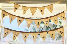 Canvas Birthday Banner